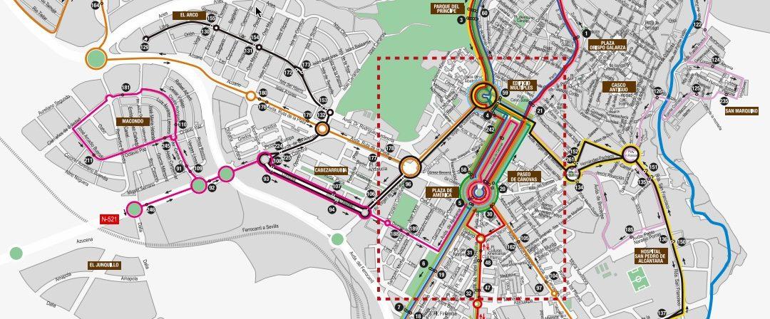 """Programa del paseo """"Por una ciudad sostenible"""""""