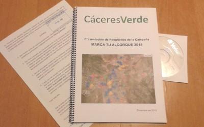 Entregado en el Ayuntamiento el Informe de la campaña Marca Tu Alcorque