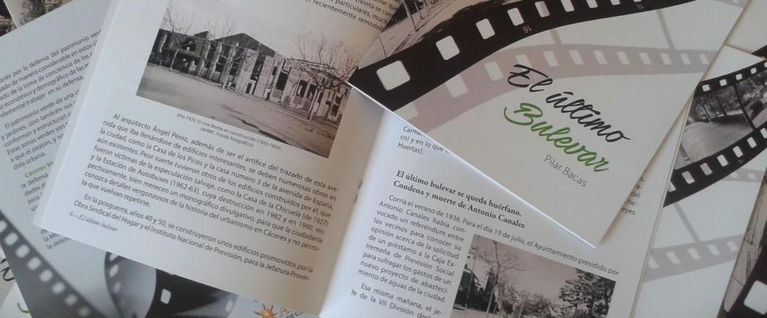 Presentación de la publicación «El Último Bulevar»
