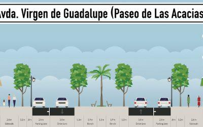 CáceresVerde presenta alternativas a la remodelación de Virgen de Guadalupe recuperando el bulevar